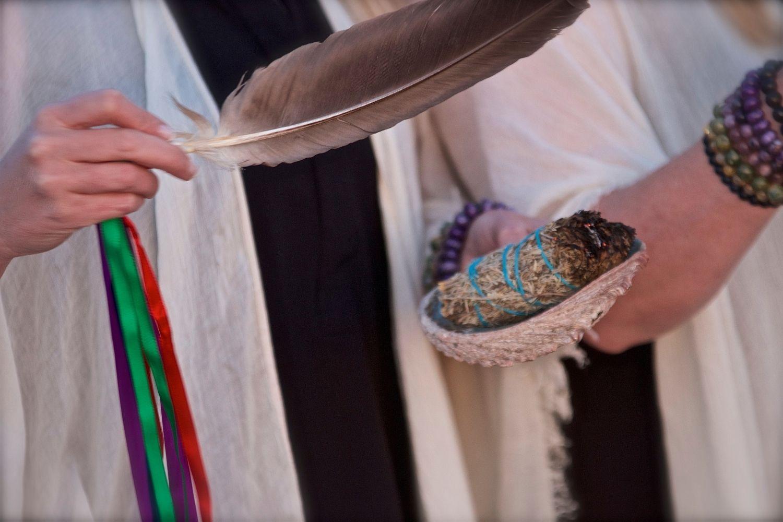 smudge ceremony Sunrise Native Recovery